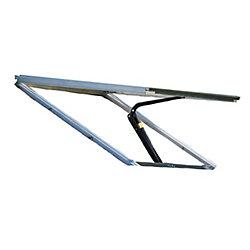 Monticello Automatic Roof Vent Kit - Aluminum