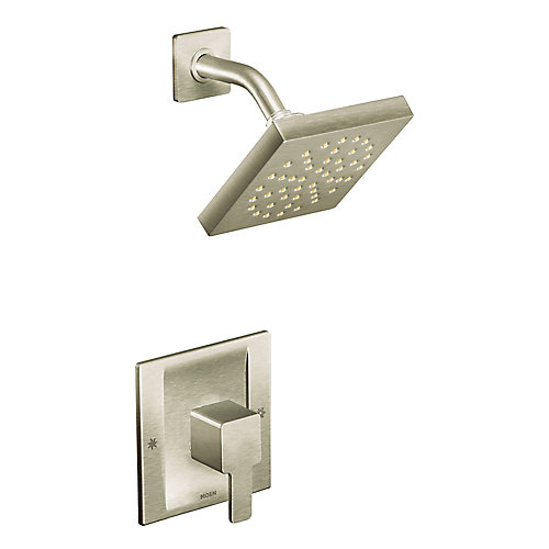 90 Degree Moentrol Shower Only in Brushed Nickel(Valve Sold Separately)