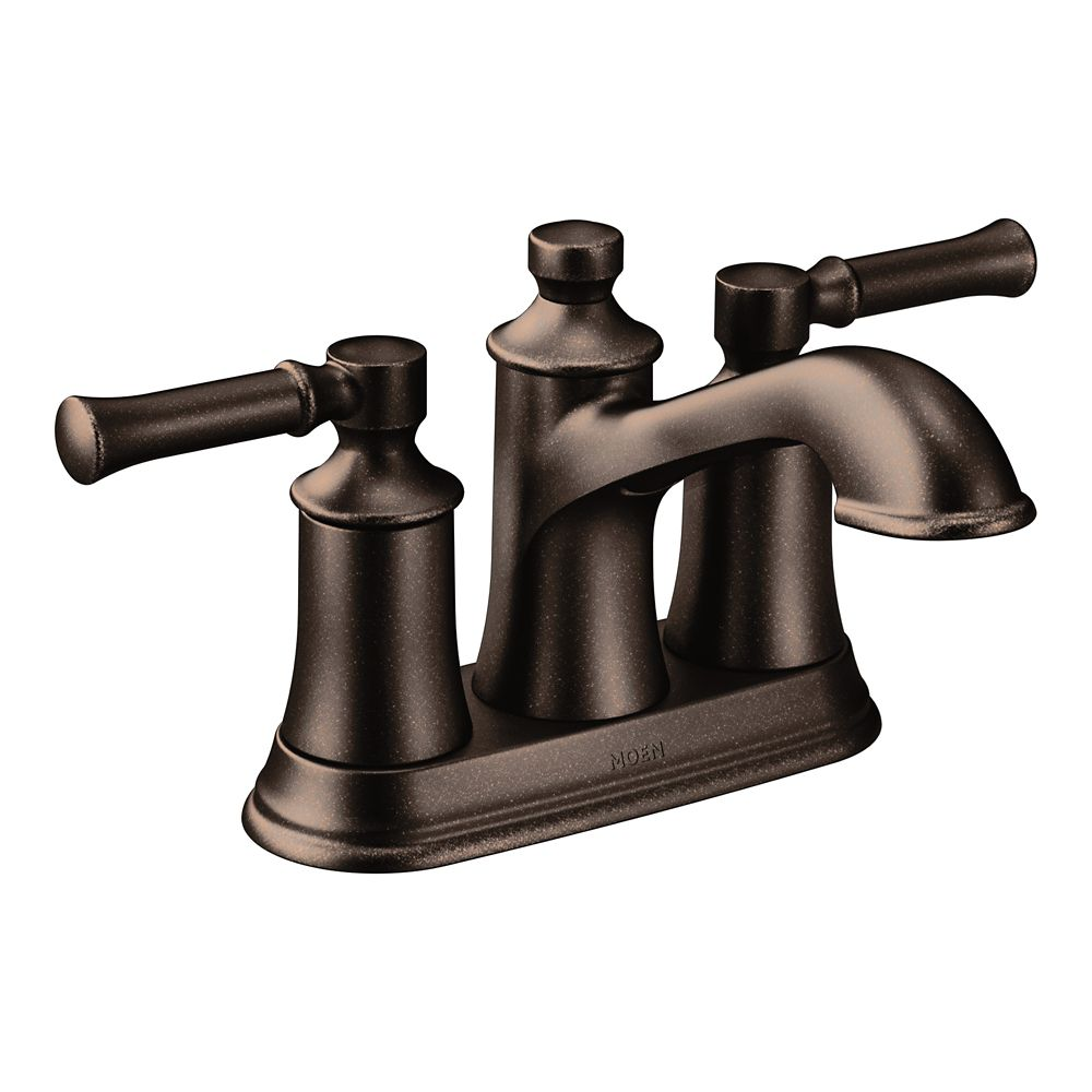 Moen Dartmoor Oil Rubbed Bronze Two-Handle High Arc Bathroom Faucet