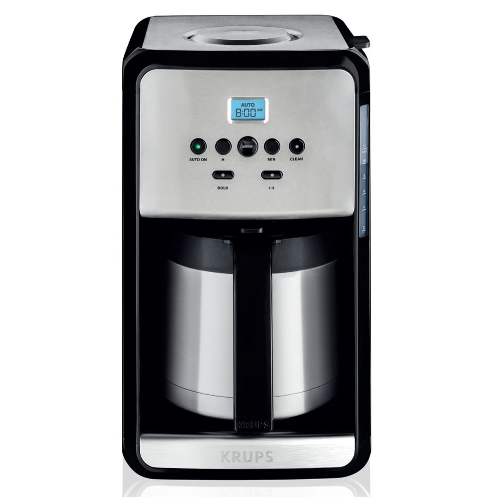Savoy 12-Cup Thermal Coffee Maker with Digital Clock