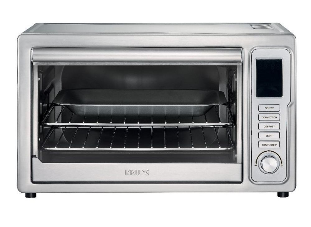 KRUPS 8-Setting Convection Toaster Oven