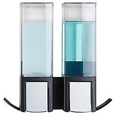 Clever Double Dispenser Black
