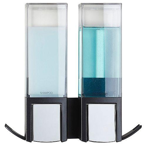 Better Living Clever Double Dispenser Black