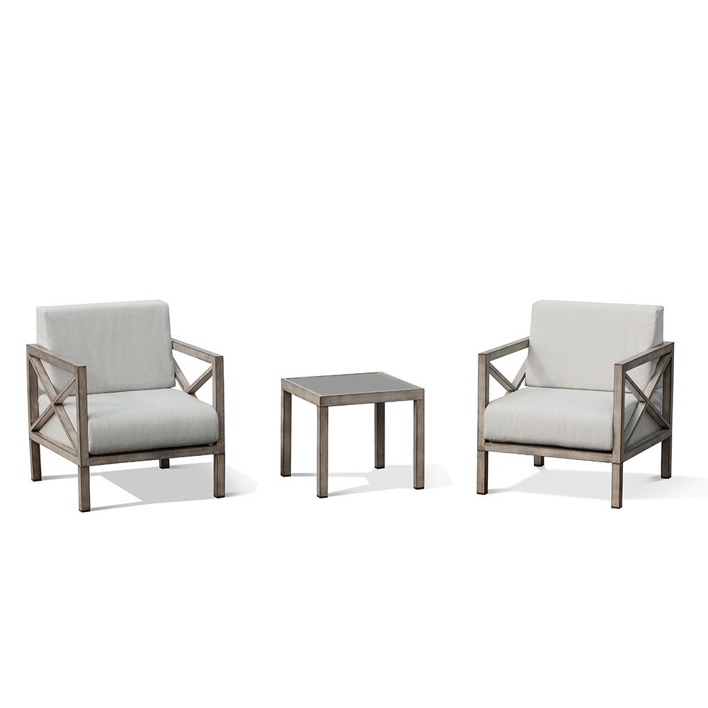 Ove Decors Pasadena 3-piece Outdoor Bistro Patio Set