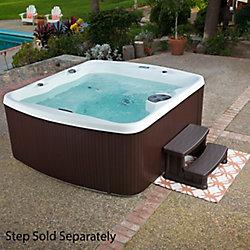 Lifesmart Spas Spa à 45 jets pour 5 personnes avec chauffage et système d'entretien de l'eau à l'ozone LS550 Plus