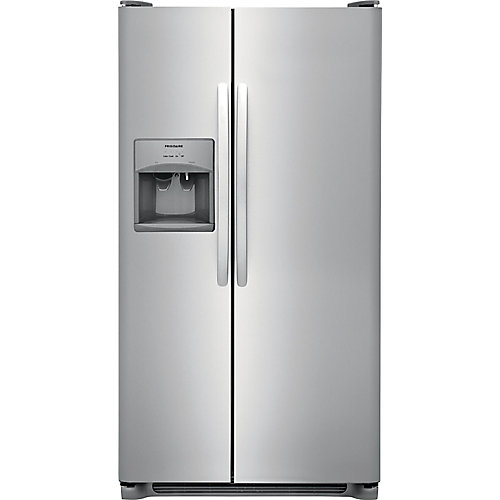 33-inch W 22.1 cu. ft. Side by Side Refrigerator in Stainless Steel