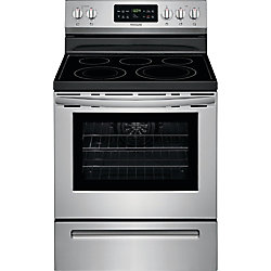 30-inch 5.4 cu. ft. Electric Range with Self-Cleaning in Stainless Steel