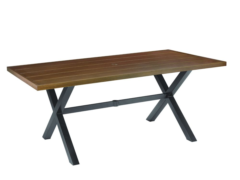 Hampton Bay Mix & Match 40x72 inch Patio Dining Table