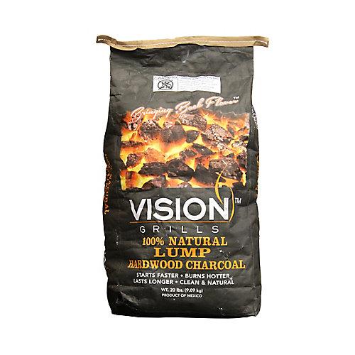 100% Natural 20 lb. Hardwood Lump Charcoal
