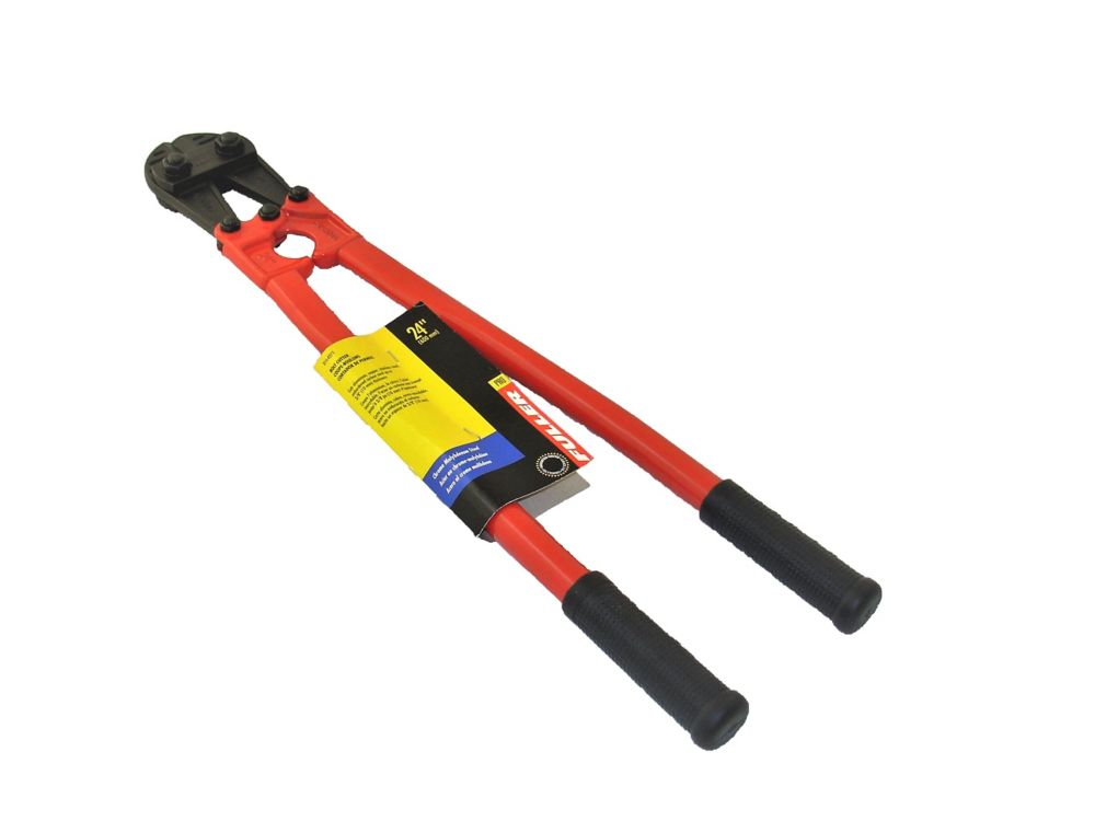 24-inch Bolt Cutter with Non-Slip Rubber Grips