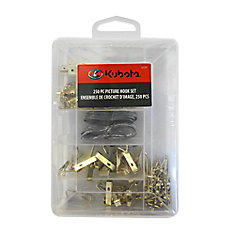 250 pc Picture Hook Set