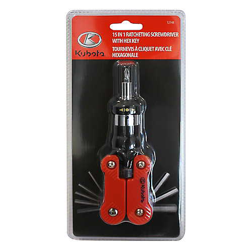 15-in-1 Ratcheting Screwdriver