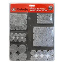 Kubota 104-Piece Felt Pad Set