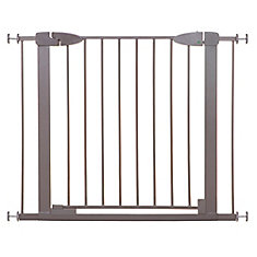 Boston Magnetic Auto-Close Security Gate - Taupe