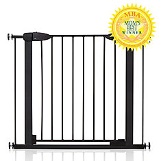 Boston Magnetic Auto-Close Security Gate - Black