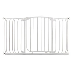 Chelsea Xtra-Wide Hallway Auto-Close Security Gate - White
