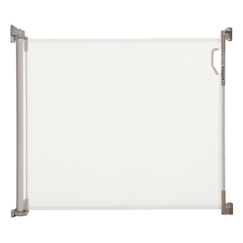 Indoor/Outdoor Retractable Gate - White