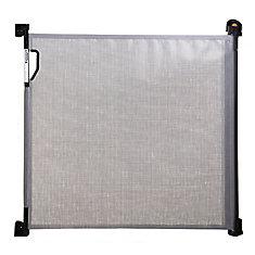 Indoor/Outdoor Retractable Gate - Grey