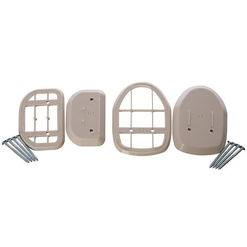 Dreambaby Retractable Gate Spacers - Beige