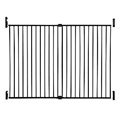 Broadway Xtra Tall et Xtra Wide Gro-Gate - noir