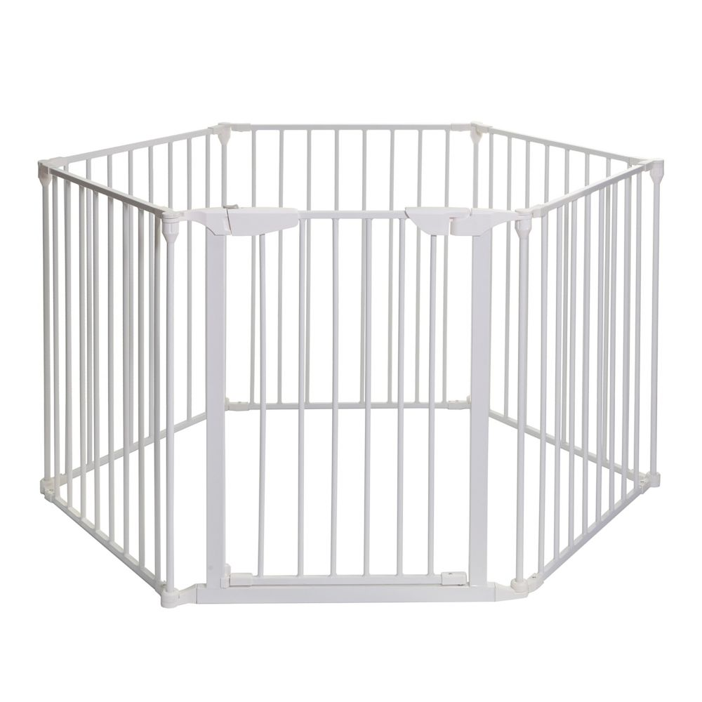 Dreambaby Mayfair Coverta 3-in-1 Play-Pen Gate - White