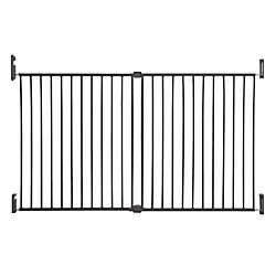 Dreambaby Broadway Xtra Wide Gro-Gate - charbon