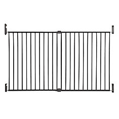 Broadway Xtra-Wide Gro-Gate - Charcoal