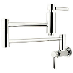 Wall-Mounted Potfiller in Polished Chrome