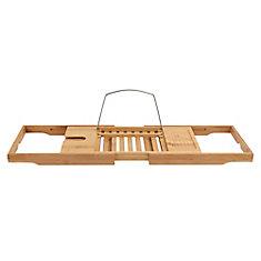 Expandable Bamboo Bathtub Tray