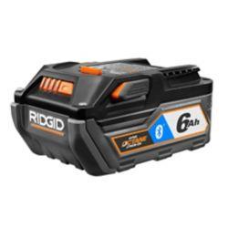 RIDGID 18-Volt HYPER OCTANE Bluetooth 6.0Ah Battery Pack