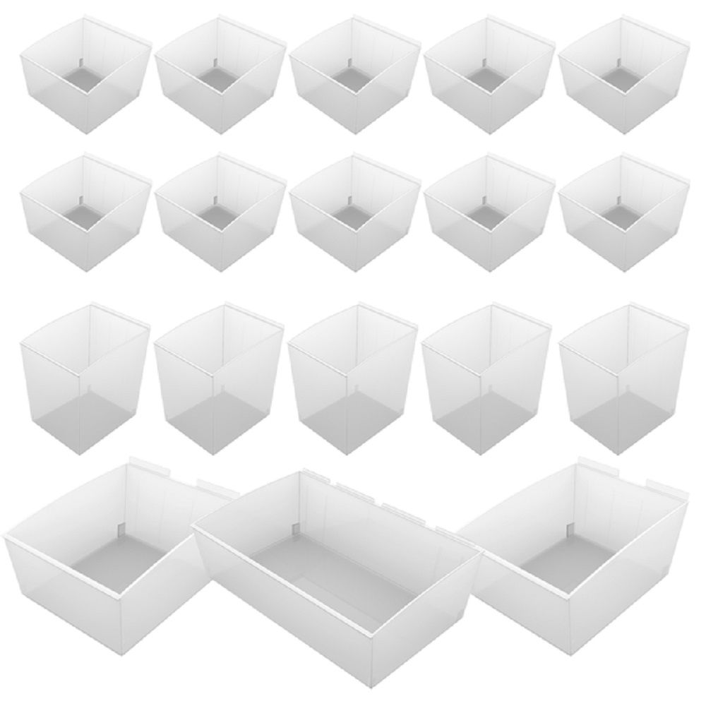 Wall Storage Solutions - ProBin Kit - 18 Pieces