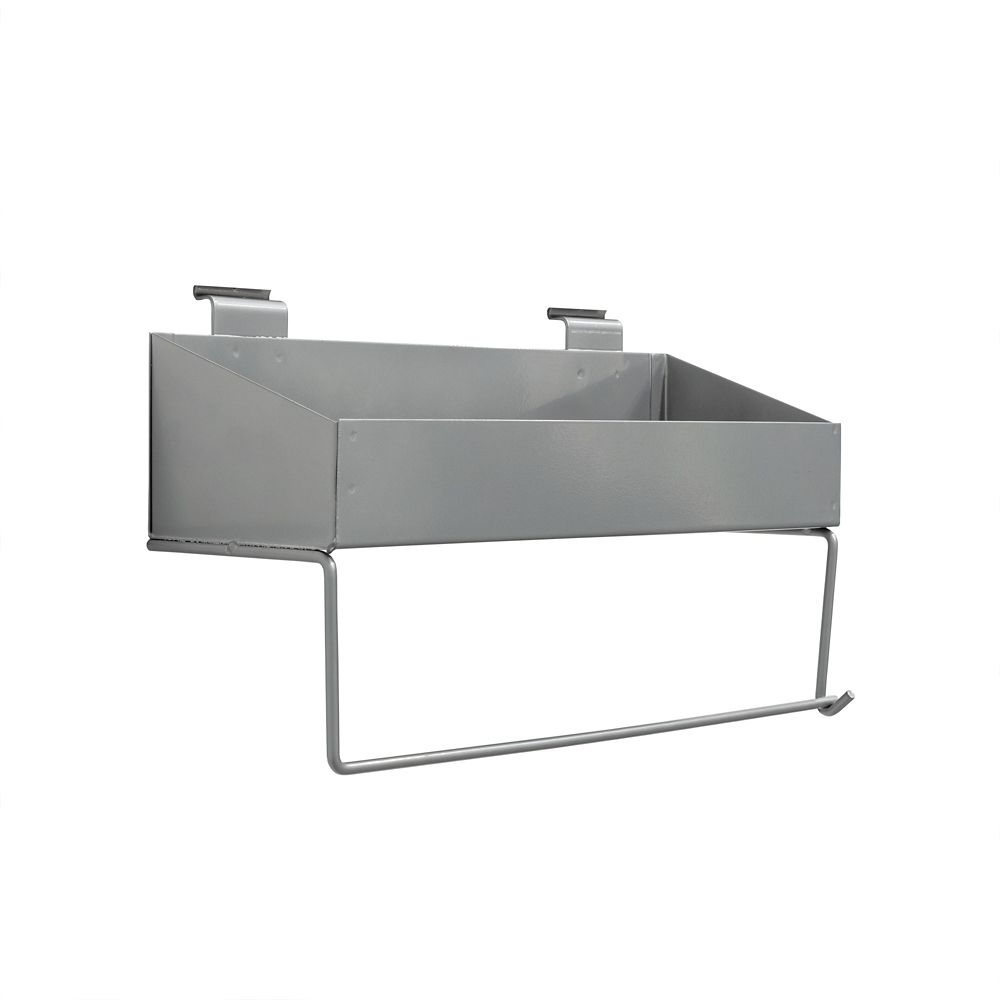 1 x Shelf and paper towel holder