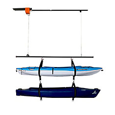 Ensemble d'élévateur Garage Gator pour deux canoës ou kayaks (220 lb)