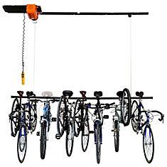 Ensemble d'élévateur Garage Gator pour 6 à 8 vélos (220 lb)