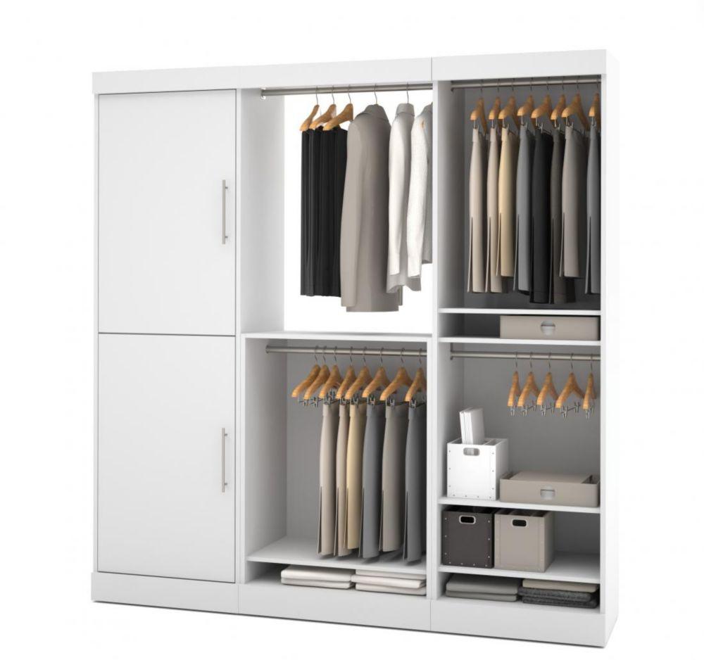 Nebula 80 inch Storage kit - White