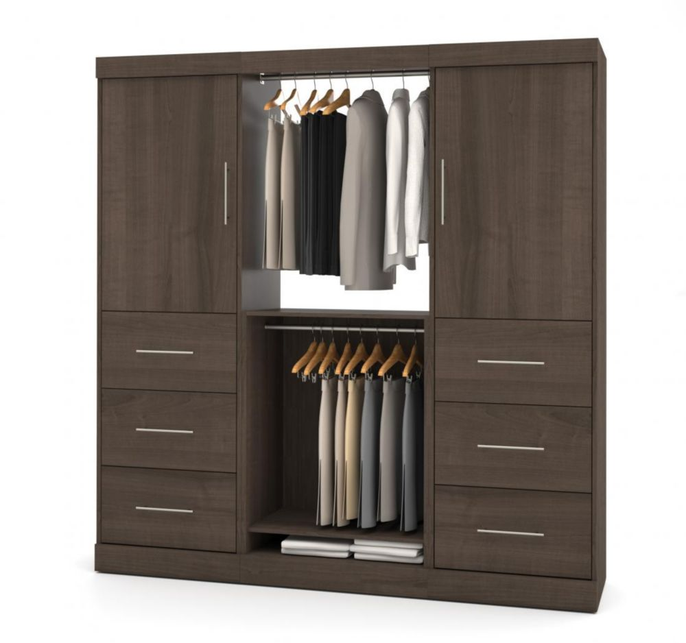 Nebula 80 inch Storage kit with 6 drawers - Antigua