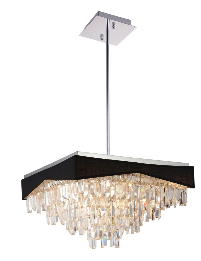 Havely 24 inch 17 Light Chandeleir with Chrome Finish