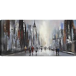 Mirrorize Canada A Walk I, Landscape Art, Canvas Print Wall Art