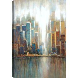 Mirrorize Canada Cityscape I, Landscape Art, Canvas Print Wall Art