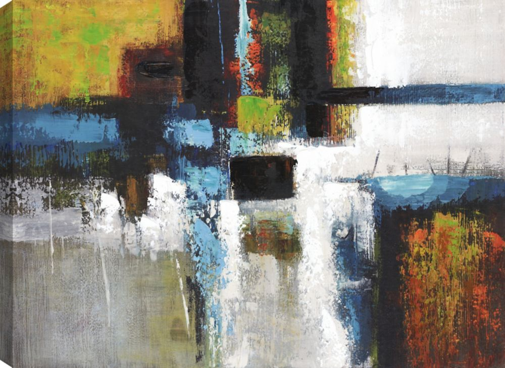 Abstract II, Colorful Art, Canvas Print Wall Art