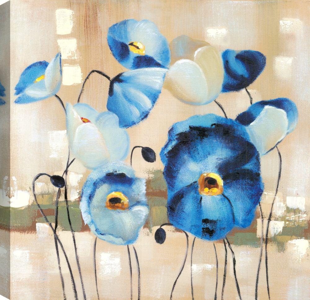Mirrorize Canada Flower Pot I, Floral Art, Canvas Print Wall Art