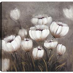 Fleur s'épanouit je, Art Floral, toile d'impression Wall Art