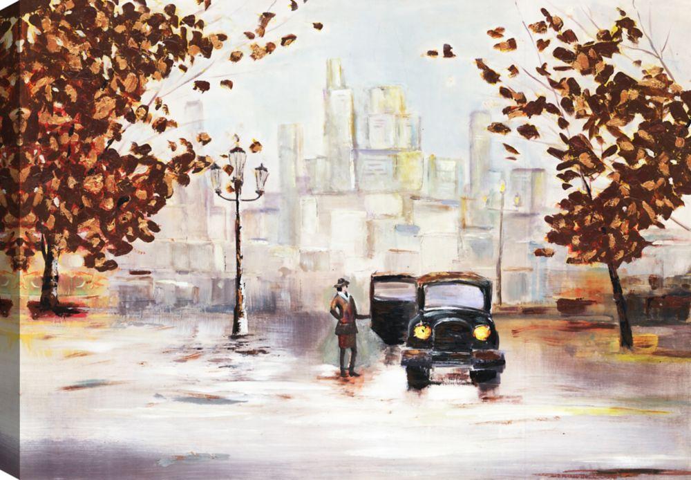 Mirrorize Canada Autumn Beauty II, Landscape Art, Canvas Print Wall Art