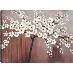 Mirrorize Canada Cherry Blossoms I, Floral Art, Canvas Print Wall Art