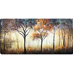 Forest Hills I, Art du paysage, toile impression Wall Art