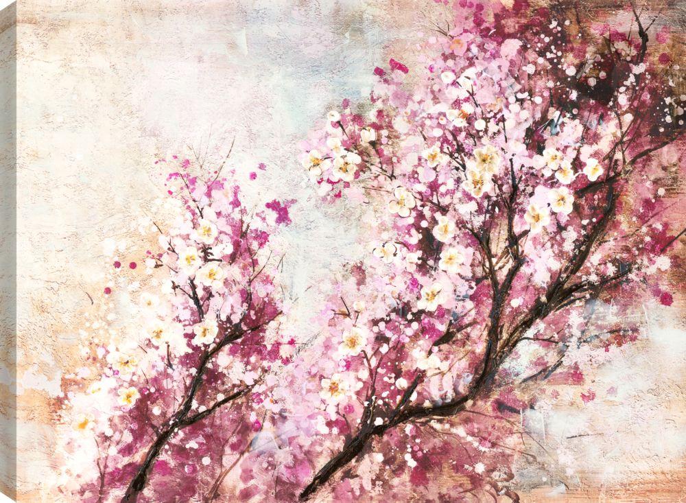 Spring Beauty, Floral Art, Canvas Print Wall Art