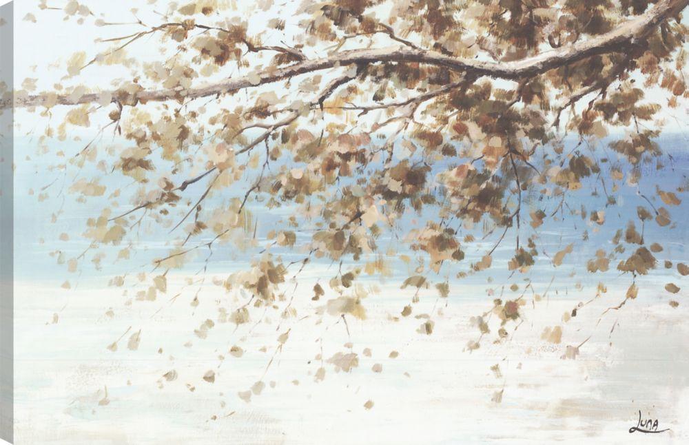 Art Maison Canada Across the Lake, Landscape Art, Canvas Print Wall Art
