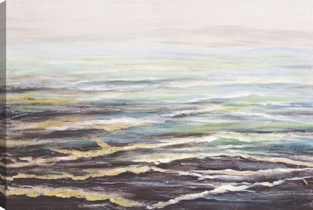 The Ocean, Landscape Art, Canvas Print Wall Art