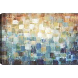 Art Maison Canada Brick Colors, Abstract Art, Canvas Print Wall Art