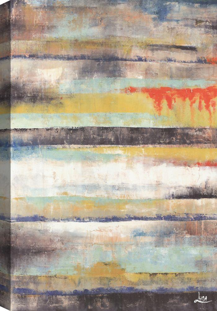 Colors II, Abstract Art, Canvas Print Wall Art